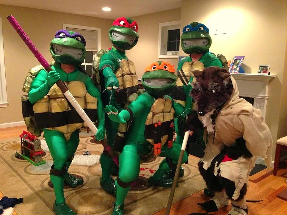 Realistic Teenage Mutant Ninja Turtles Costumes