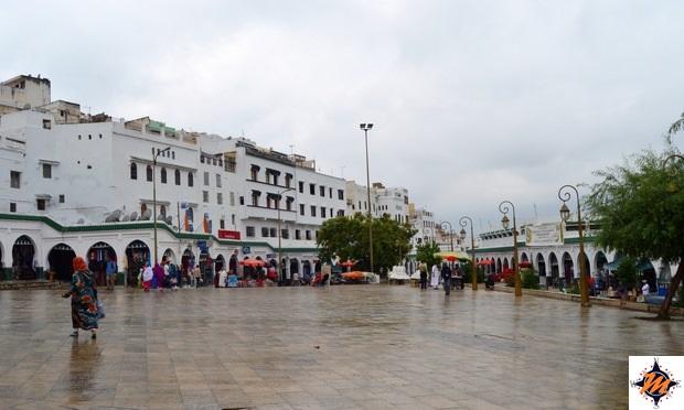 Moulay Idriss, piazza principale