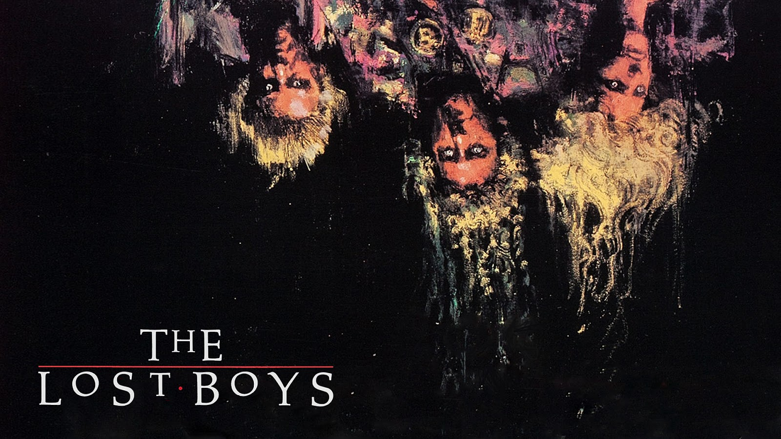 neato coolville: halloween wallpaper: the lost boys