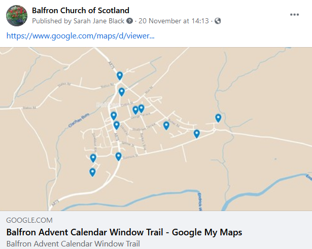 Balfron's Village Advent Calendar