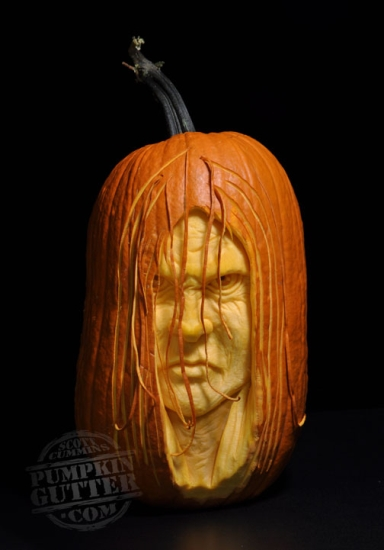 Most Expressive 3d Pumpkin Face Sculptures Ii Spicytec