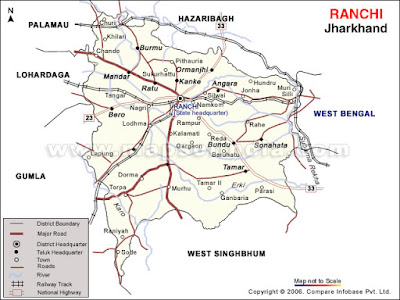 Ranchi Map