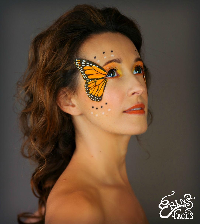 Крыло бабочки макияж фото