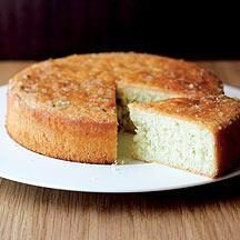 Tarta Esponjosa con Jarabe de Cítricos