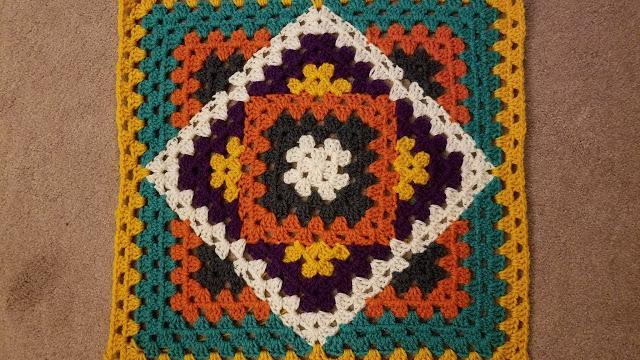 Вязание крючком бабушкины квадраты изделия 95