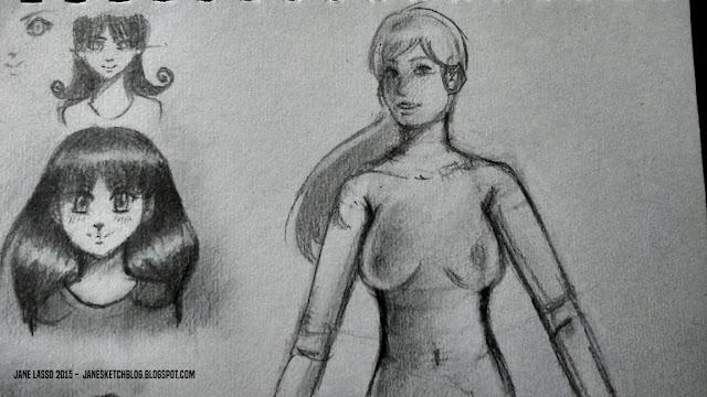 Dibujo de desnudo artistico