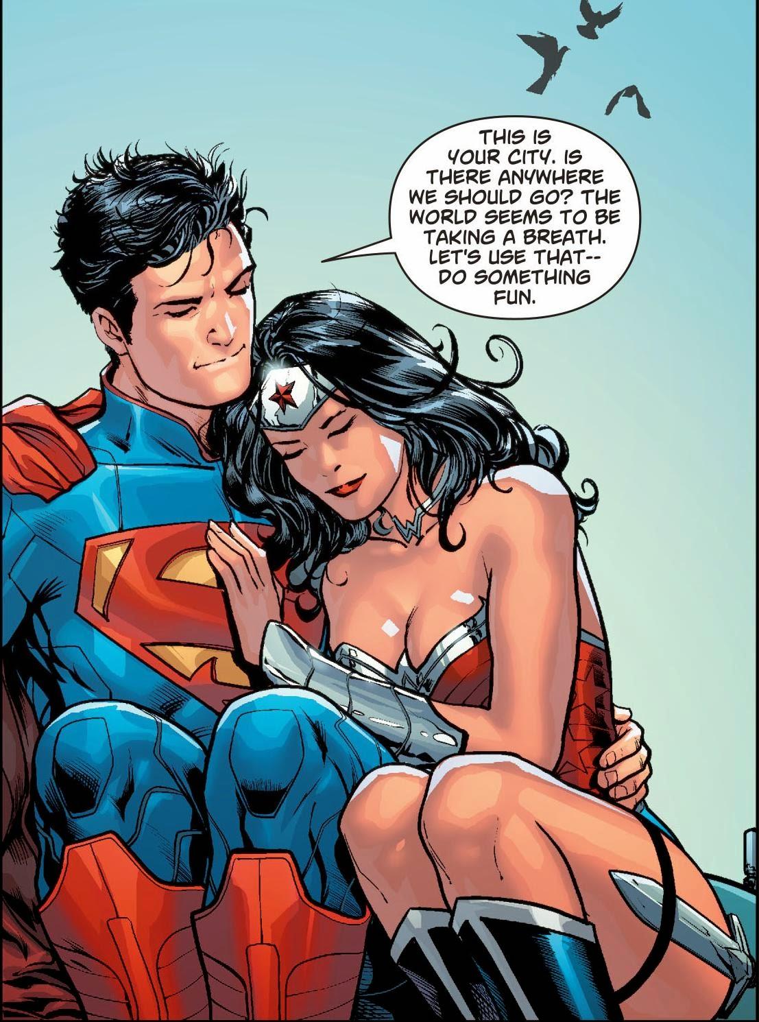 Nuevo: Superman/Wonder Woman