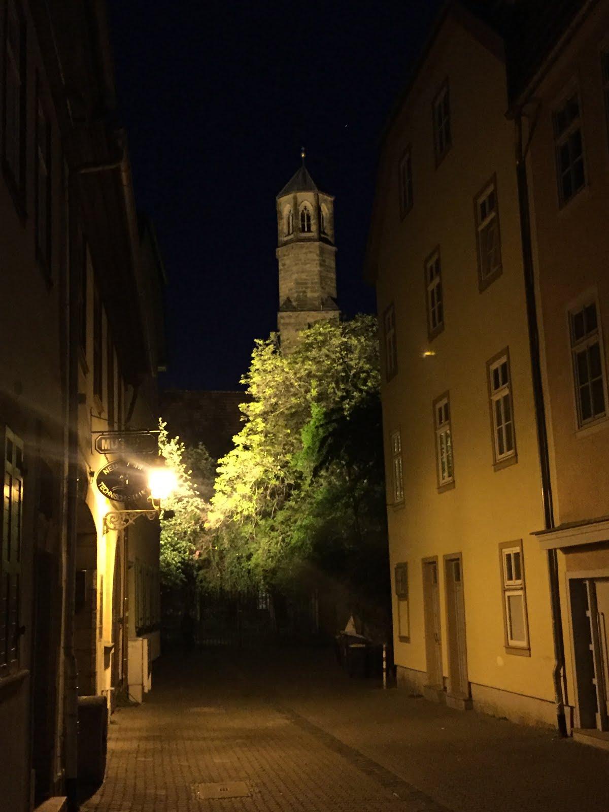 Predigerkirche am Abend