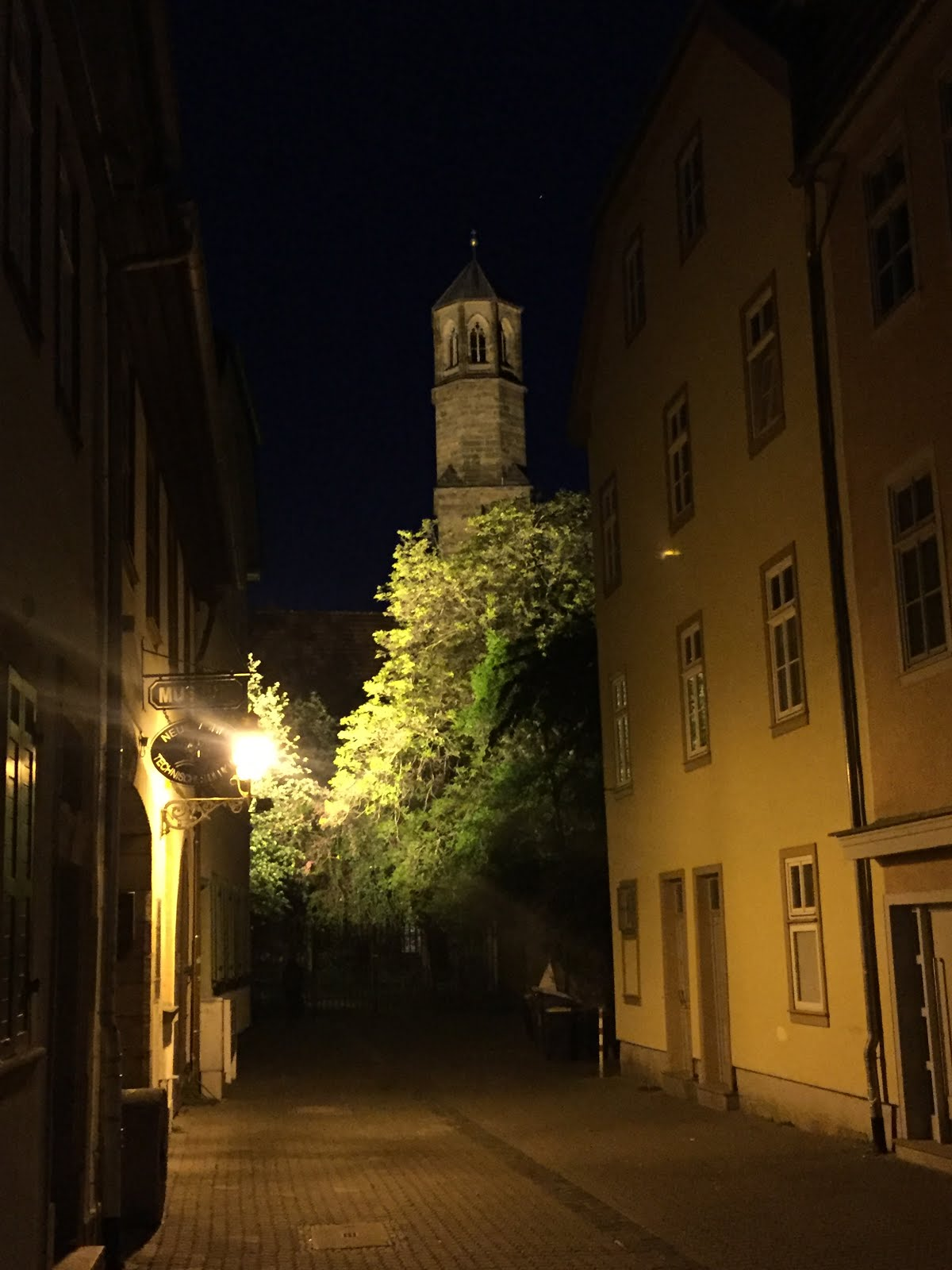 Predigerkirche an Abend