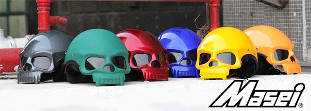 Masei 419 Skull Helmet for Harley Davidson Biker