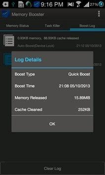 Memory Booster (Full Version) app screenshoot