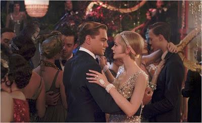 Jay Gatsby (Leonardo DiCaprio) y Daisy (Carey Mulligan) en una escena de la película. Crítica El gran Gatsby. LA TAQUILLA. Making Of