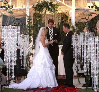 Amazing Faux Crystal Wedding Decorations
