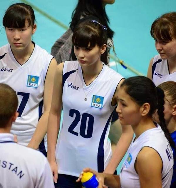 Sabina Altynbekova from Kazakhstan