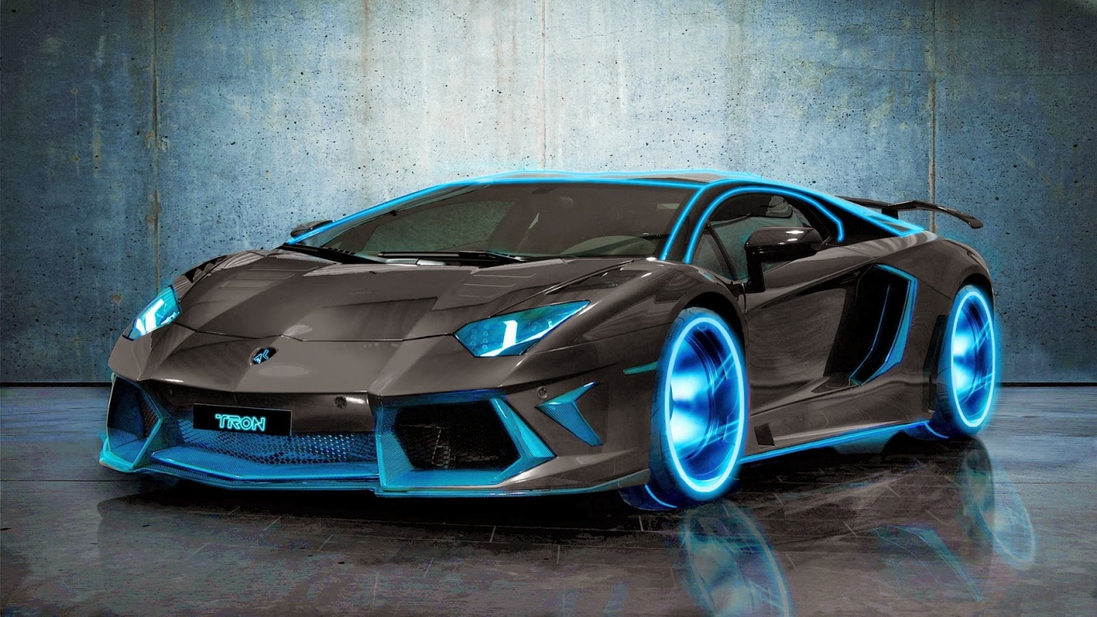 Hd Wallpaper Download Tron Lamborghini Aventador 2014 Hd Wallpaper Download
