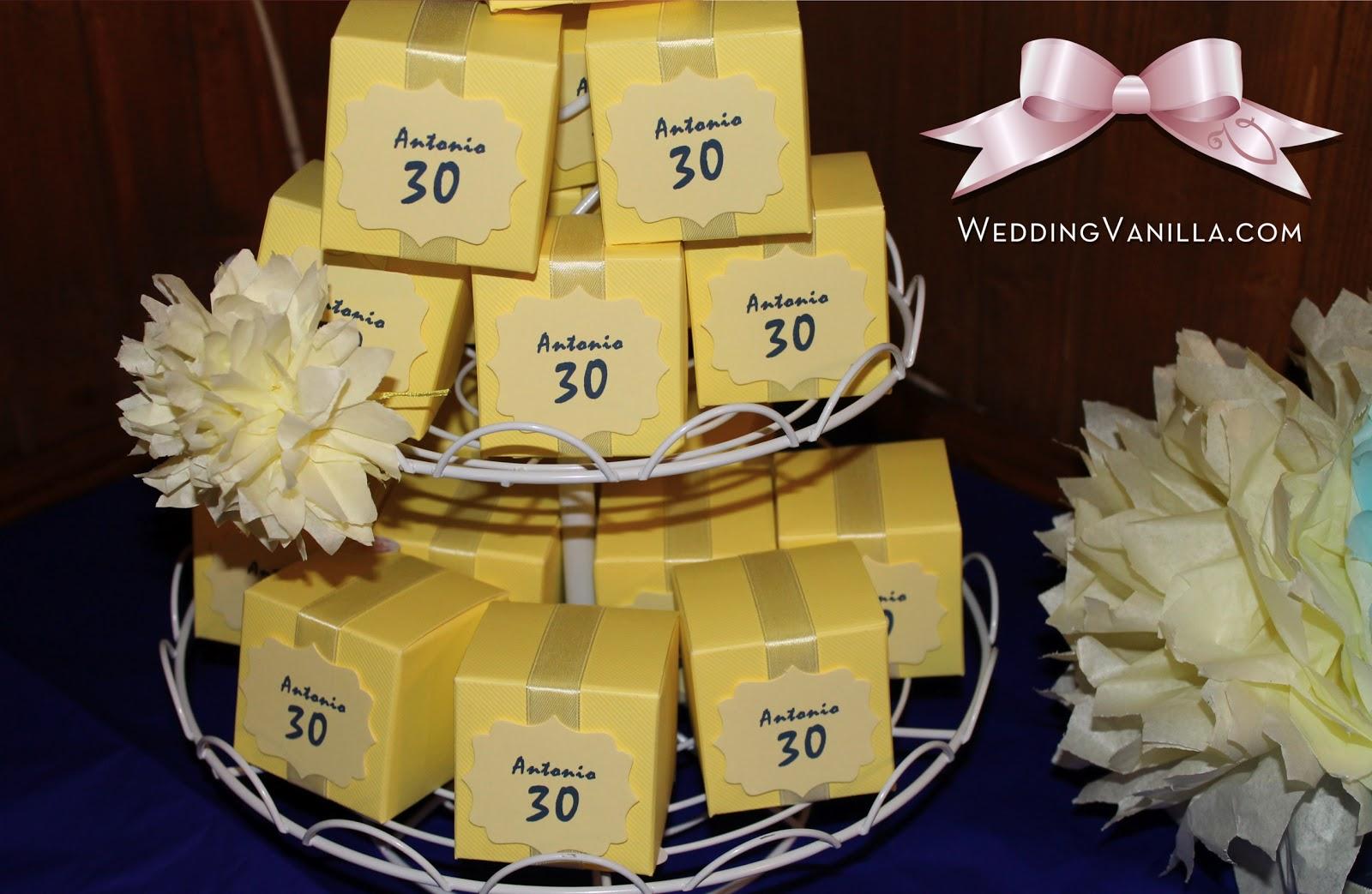 abbastanza Vanilla Wedding Design: 30 anni: Festa di compleanno di Antonio  WO61