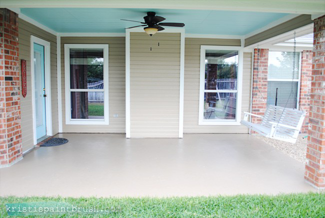 How To Paint A Porch Floor | Includes A Detailed Step By Step Prep