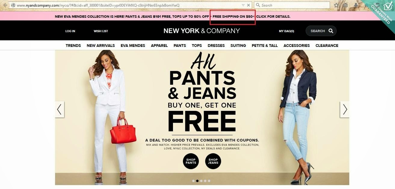 New york coupons