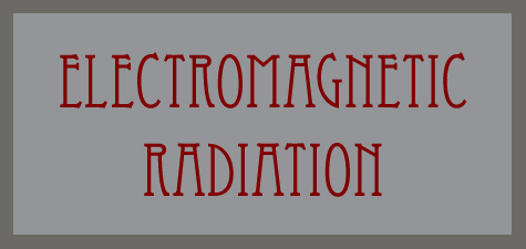 Electromagnetic Radiation word banner