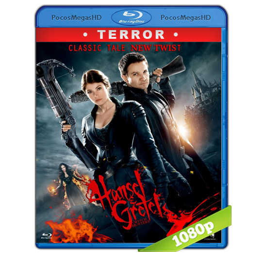 Hansel & Gretel: Cazadores De Brujas (2013) EXTENDED Full HD BRRip 1080p Audio Dual Latino/Ingles 5.1 (peliculas hd )