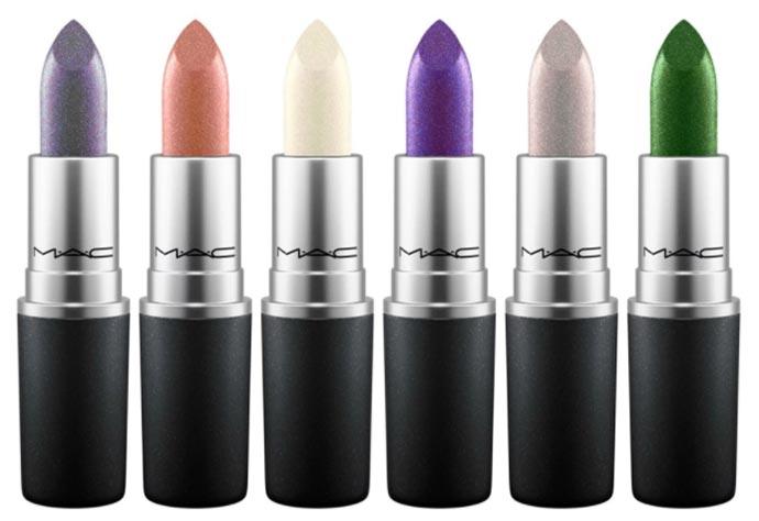 MAC Metallic Lips Collection Unveils Pearl-Infused MAC Metallic Lipsticks