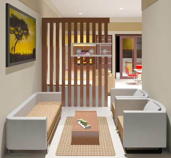 interior ruang tamu yang cantik interior rumah sederhana