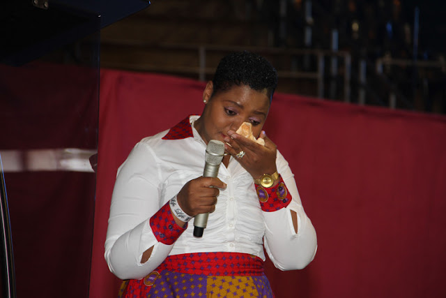 Prophetess Ruth Makandiwa shed tears while thanking her mother-in-law during a Mother's Day event last Saturday