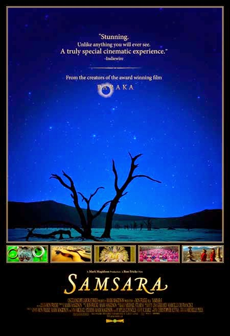6 Mind Expanding Movies That Will Make You Question Reality And Life - SAMSARA, BY RON FRICKE