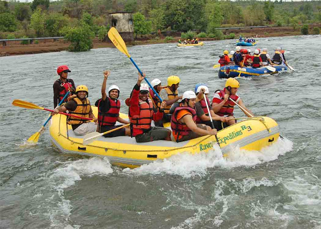 Rishikesh river rafting and camping wallpapers