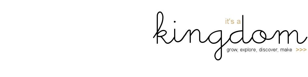It's a kingdom