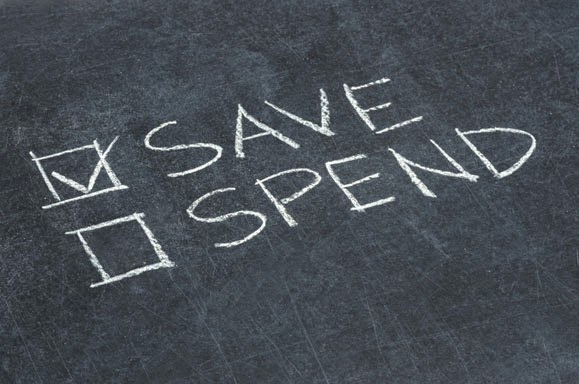 save money in order to spend money