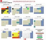 CALENDARIO ESCOLAR 2017. 2018
