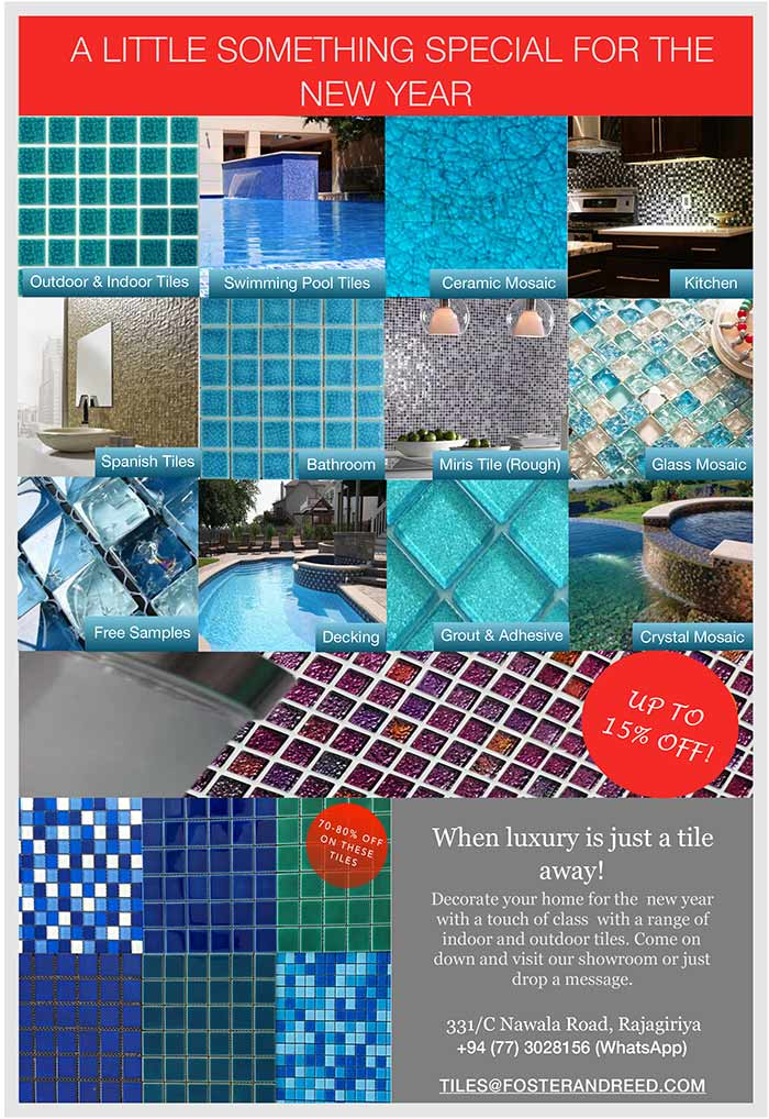 When luxury is just a tile away! Decorate your home for the new year with a touch of class with a range of indoor and outdoor tiles. Come on down and visit our showroom or just drop a message.