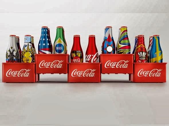 Aplicativo surpresa Mini Garrafinhas Coca-Cola