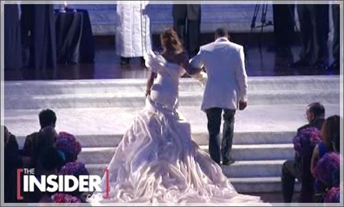 Monica singer wedding