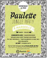 Jungle Party Paulette Marseille terrasse Friche Belle de Mai Manifestation This is not Music