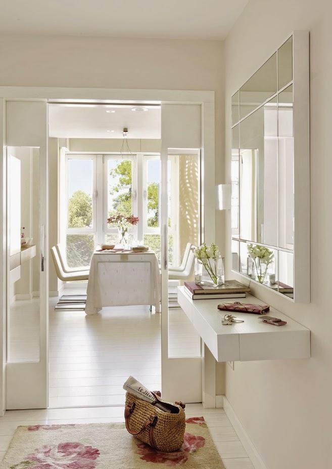 Stebbing house desing reinventa tu recibidor - Decorar el recibidor ...