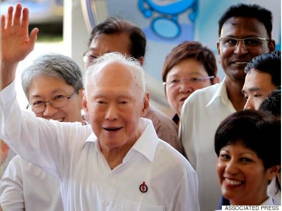 Mantan Perdana Menteri (PM) Singapura Lee Kuan Yew