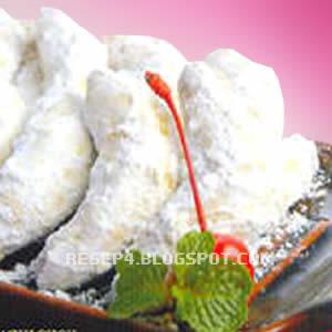 Resep Kue Putri Salju Renyah Enak - Resep Masakan 4 ™