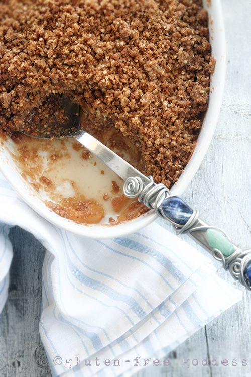 Gluten-Free Goddess Recipes: Gluten-Free Apple Crisp without Oats