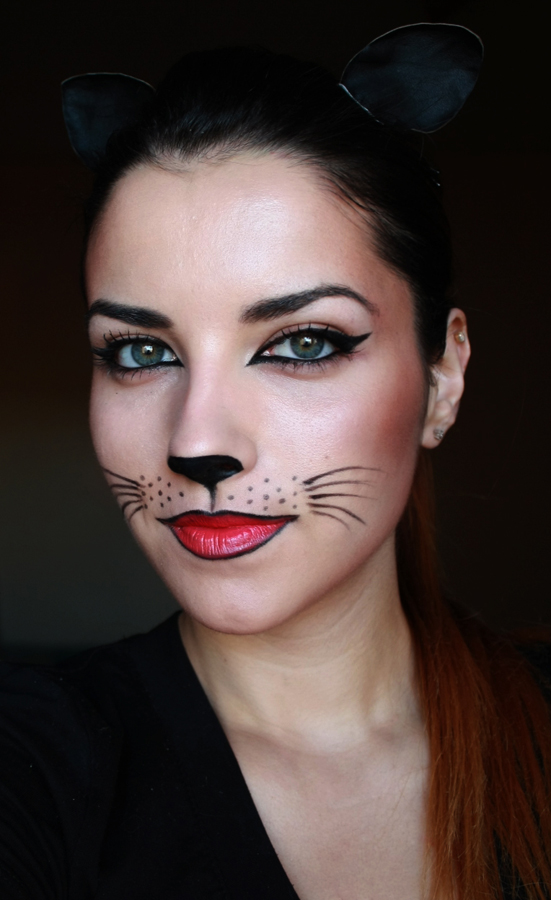 Halloween Makeup Cat Face submited images - Pretty Cat Halloween Makeup