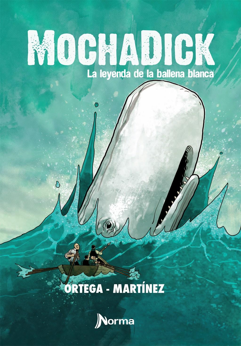 historietas rasantes: Mocha Dick, Francisco Ortega y Gonzalo Martínez