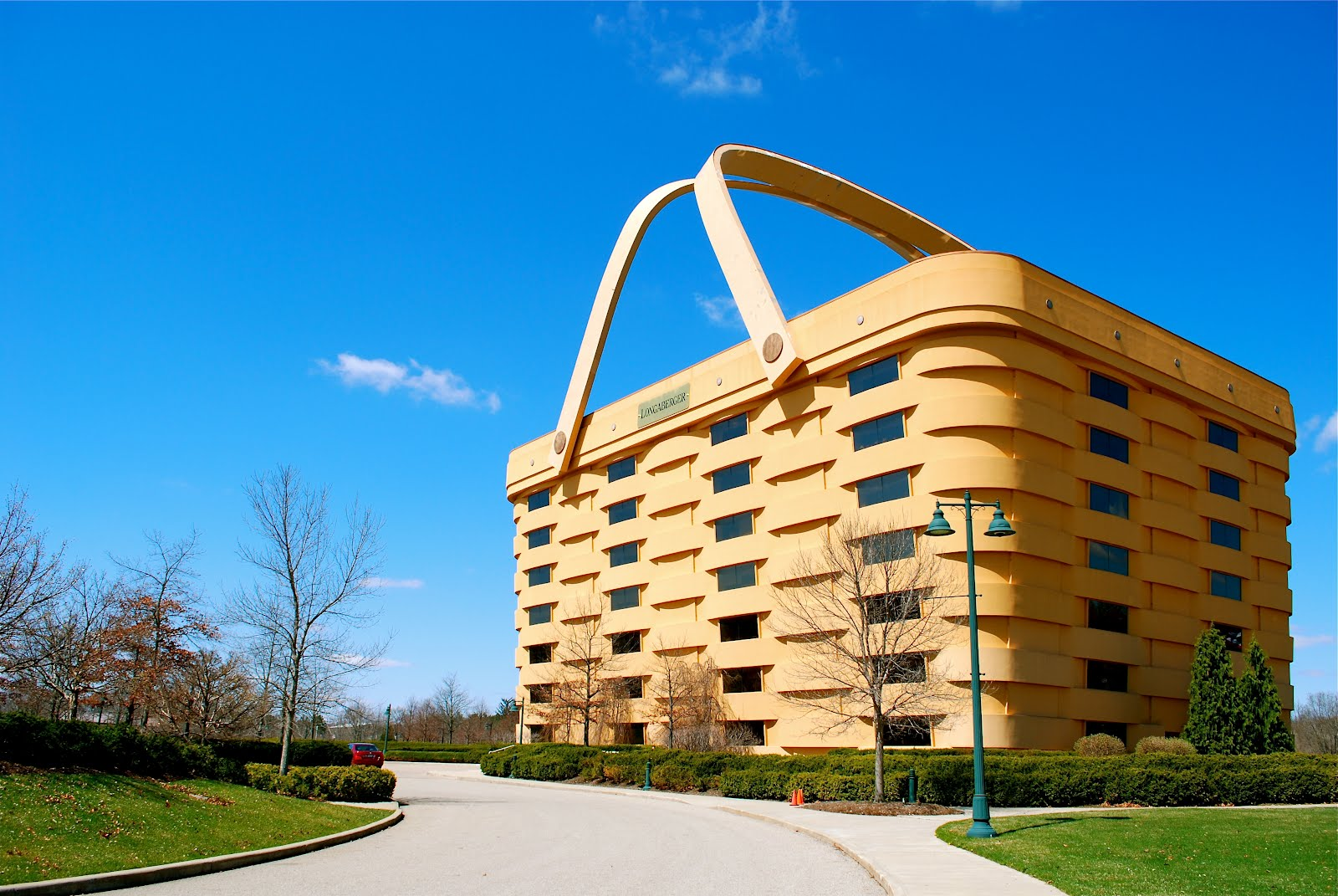 The Longaberger Basket Company Home Office, Located In Newark Ohio, Is A  180,000 Sq. Ft. Basket, Seven Stories In Height With 84 Windows.