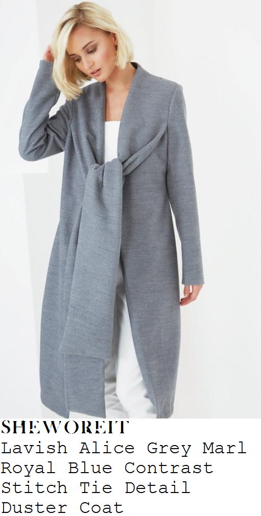 lindsay-lohan-grey-marl-long-sleeve-open-front-duster-coat-london