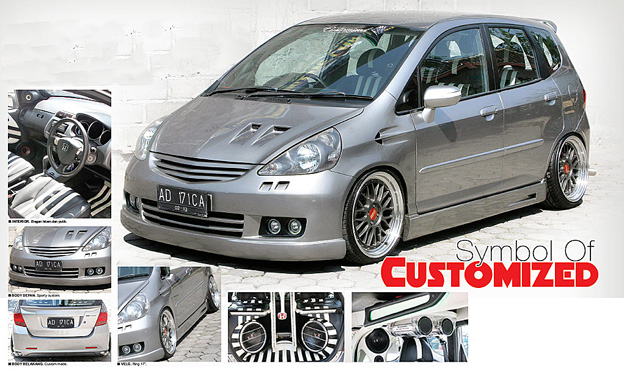 Honda Jazz '04 : Symbol Customized