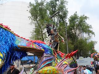desfile de alebrijes monumentales