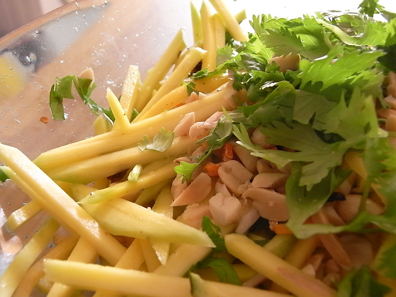 Samurai Viking Cuisine: Thai Green Mango Salad