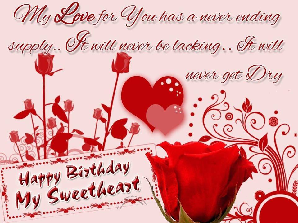 romantic cute happy birthday sms messages whatsapp dp profile, Birthday card