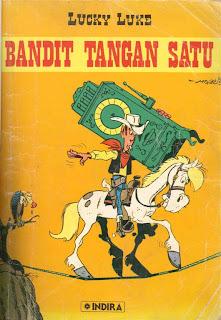 eBook Komik Lucky Luke - Bandit Tangan Satu