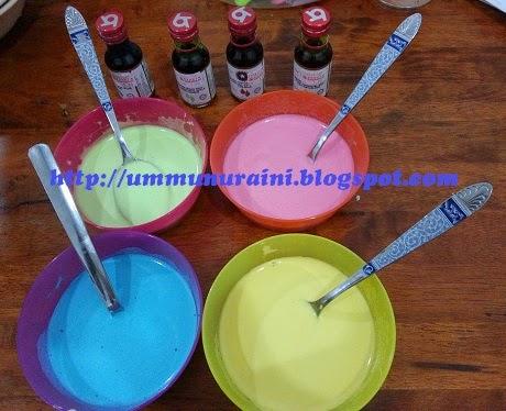 Aiskrim Paddle Pop Homemade